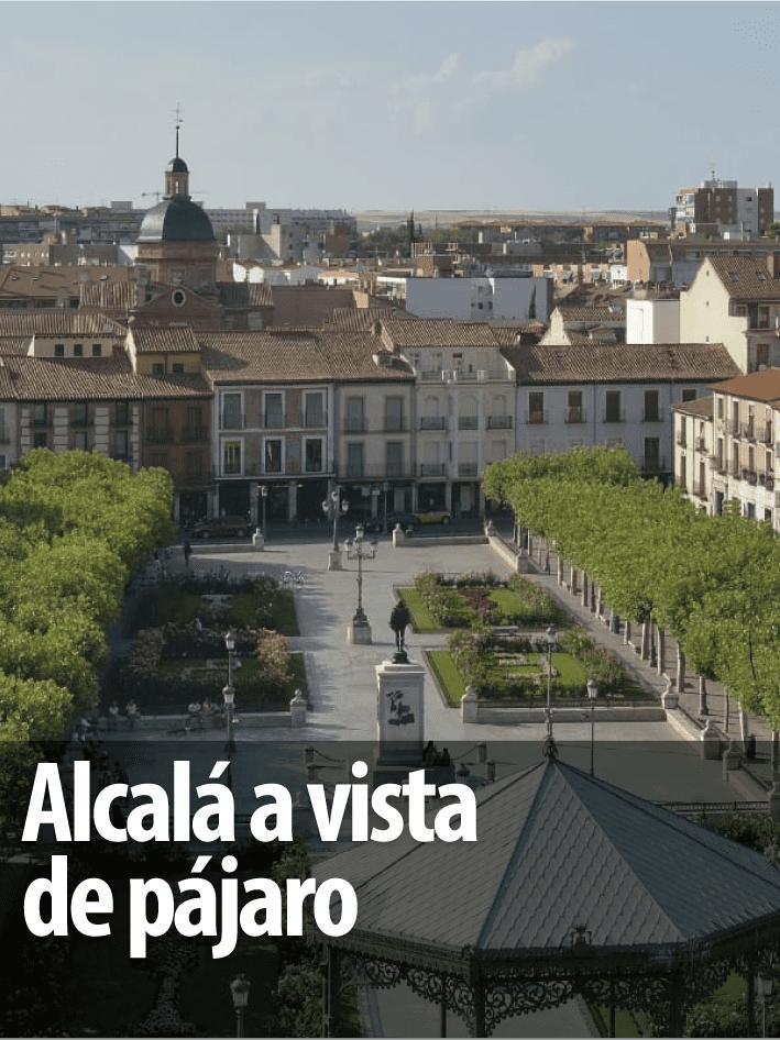 Alcalá a vista de pájaro